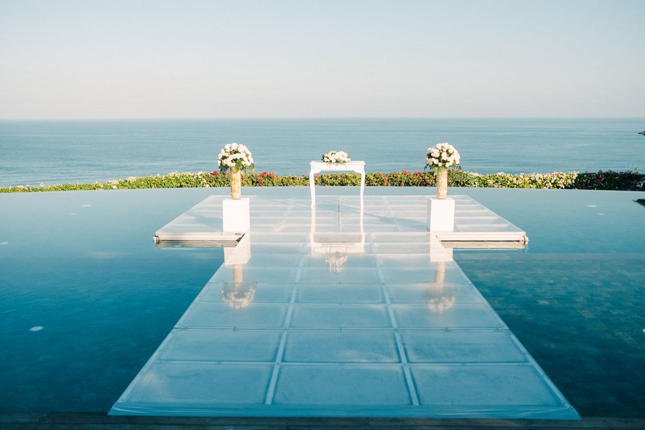 A&K: Elegant Ocean View Bali Wedding Photography 19