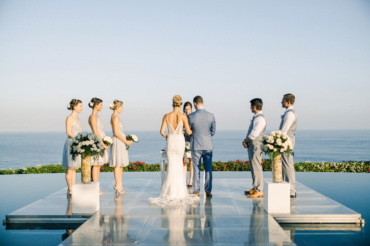 A&K: Elegant Ocean View Bali Wedding Photography 21