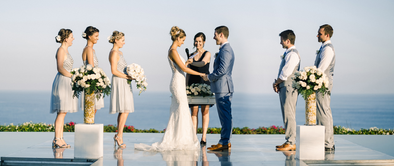 A&K: Elegant Ocean View Bali Wedding Photography 22