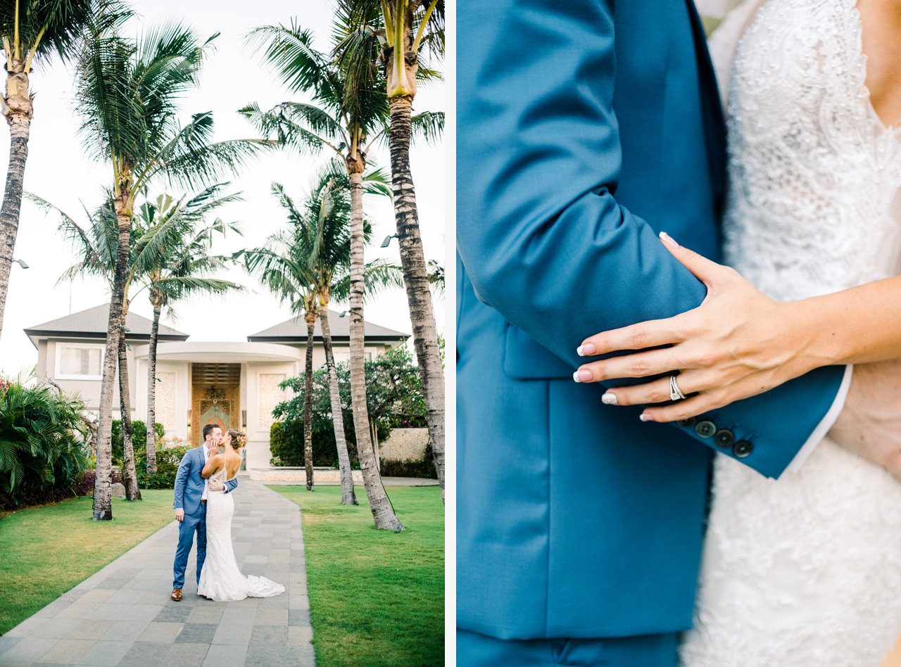 A&K: Elegant Ocean View Bali Wedding Photography 37