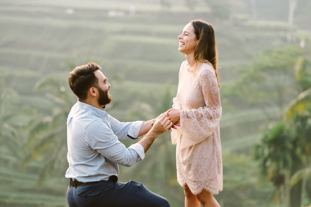 Andy & Lupe: Bali Proposal Photography at Tegalalang Rice Terrace 7