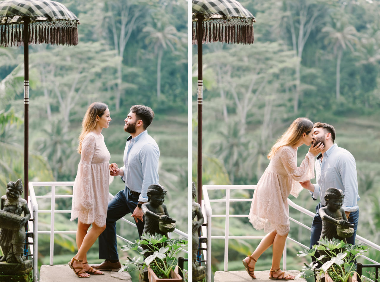 Andy & Lupe: Bali Proposal Photography at Tegalalang Rice Terrace 36
