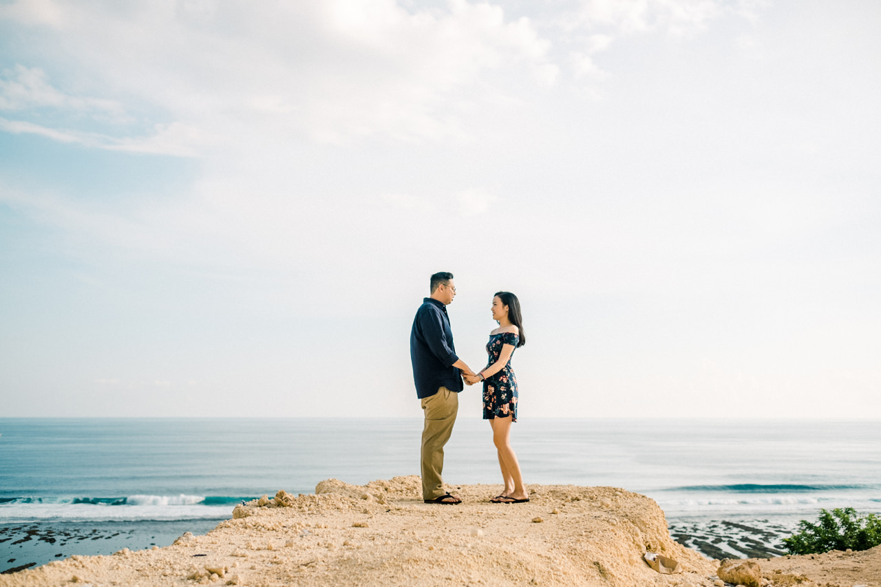 A&M: Cliffside and Amazing View Bali Surprise Proposal 1