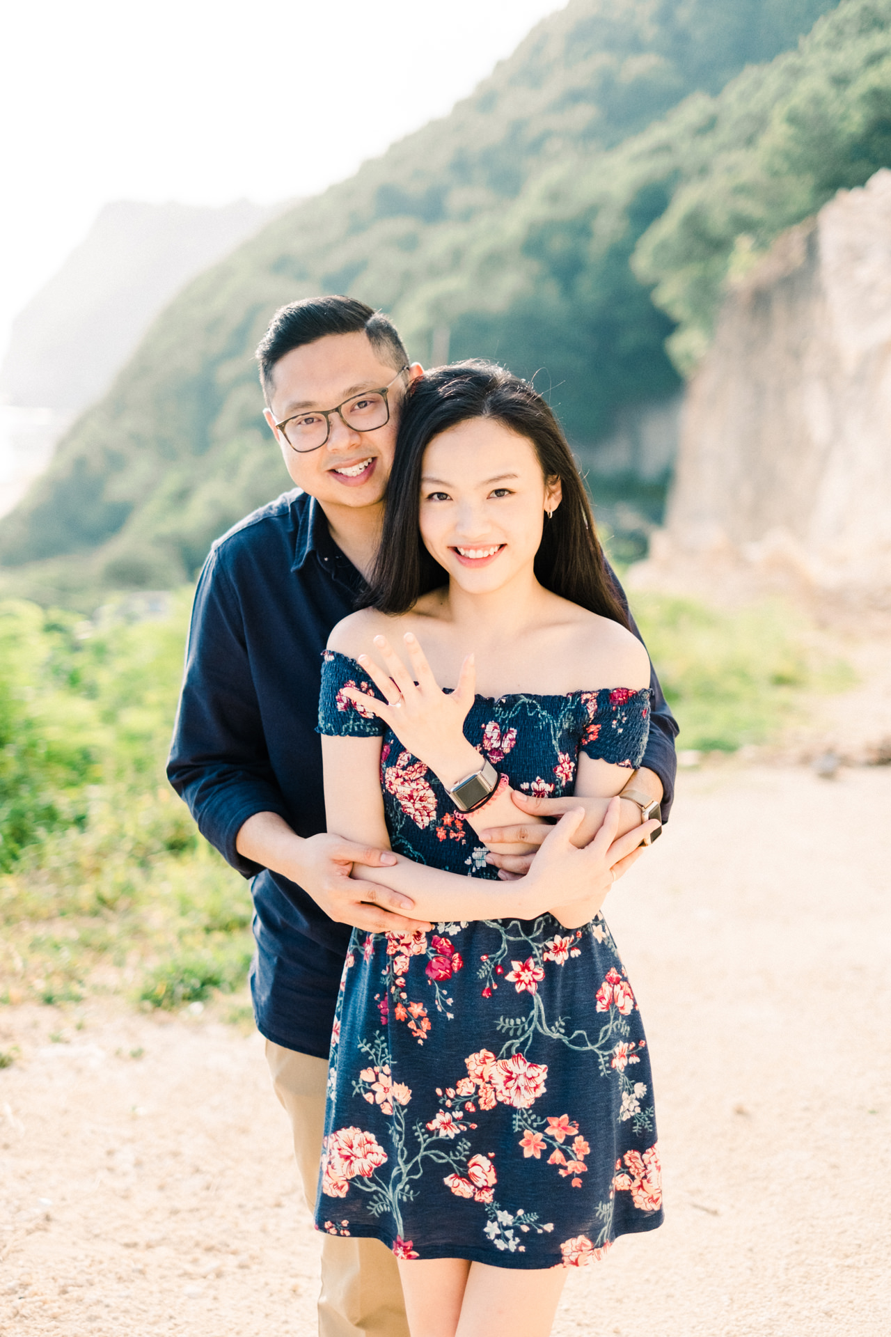 A&M: Cliffside and Amazing View Bali Surprise Proposal 8