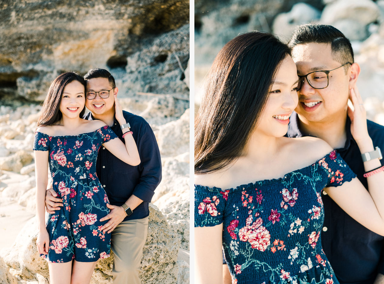 A&M: Cliffside and Amazing View Bali Surprise Proposal 9