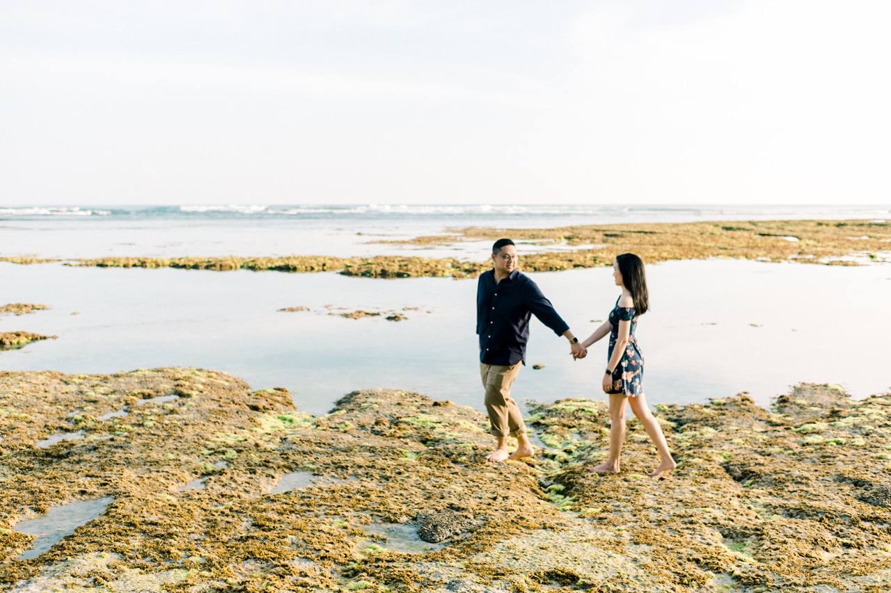 A&M: Cliffside and Amazing View Bali Surprise Proposal 13