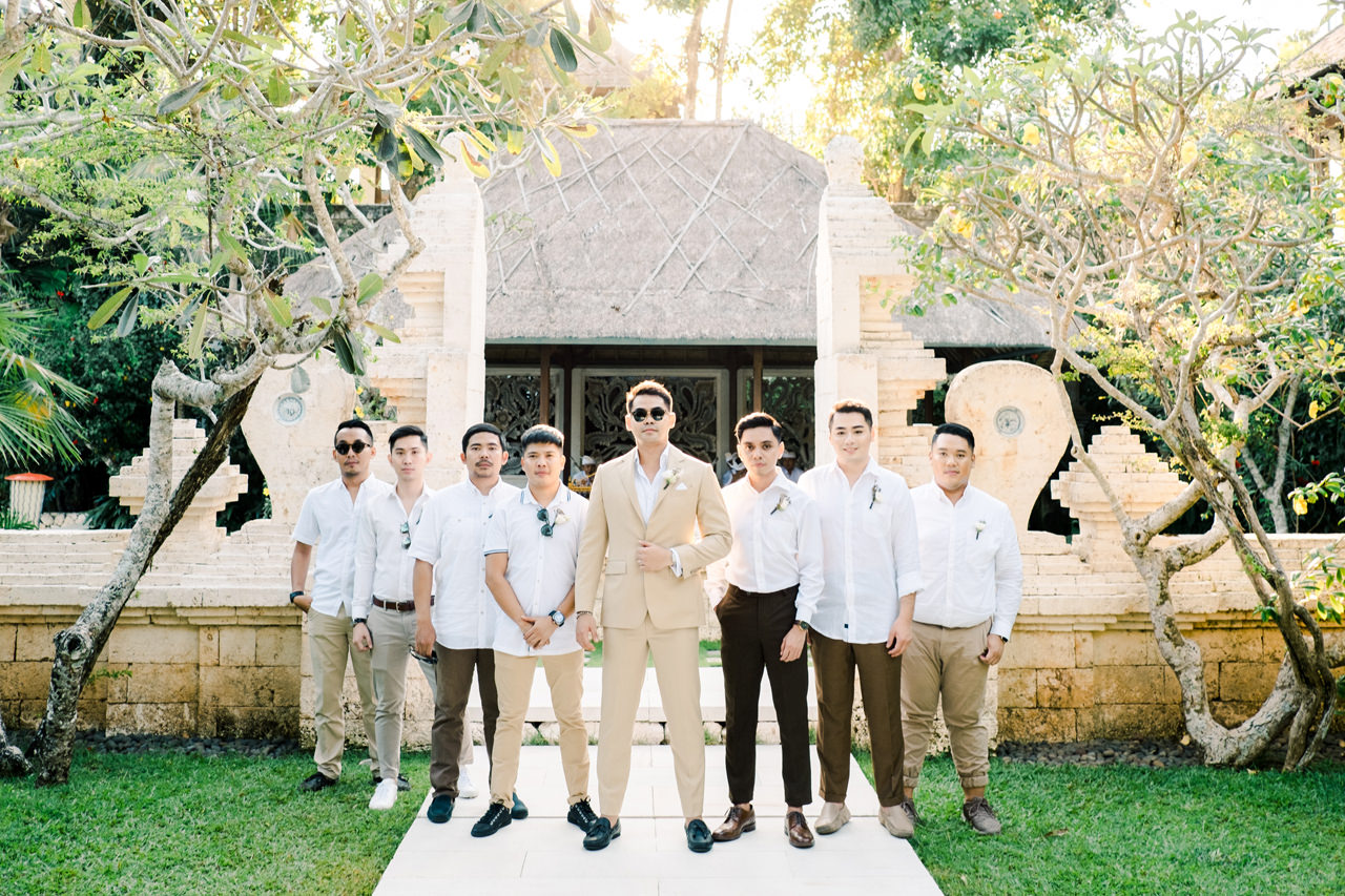 Bali Wedding of Ana Octarina and Adie Baron 15