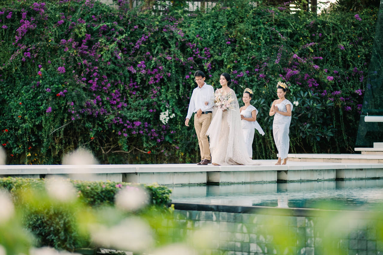Bali Wedding of Ana Octarina and Adie Baron 23