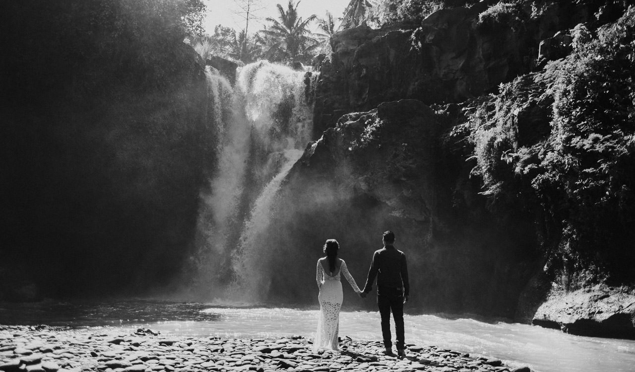 Adjus& Pande: Sunrise Photography Session at Tegenungan Waterfall 32