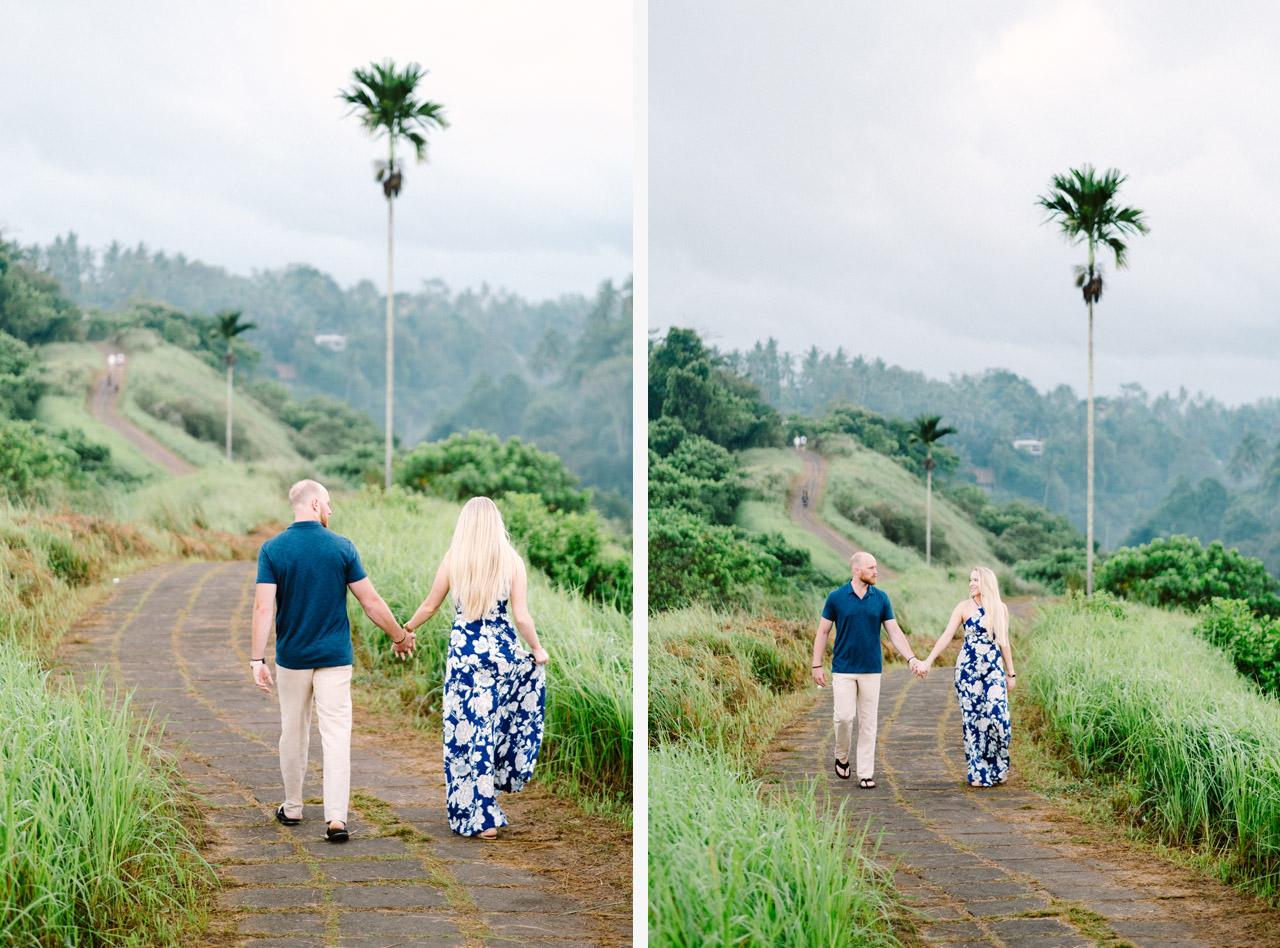 Amy & Rory: Honeymoon Photography at Campuhan Ridge Walk 1