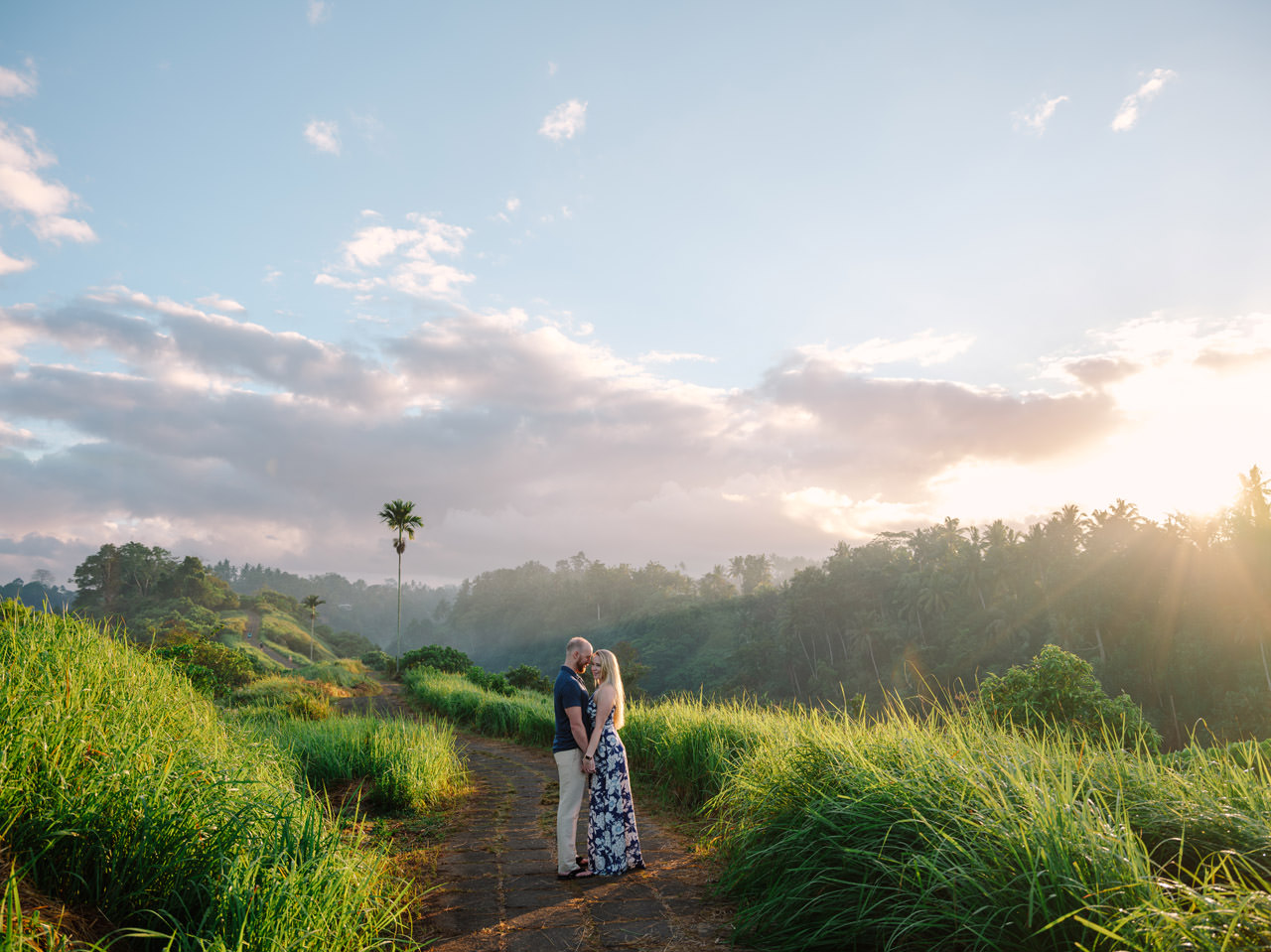 Amy & Rory: Honeymoon Photography at Campuhan Ridge Walk 4