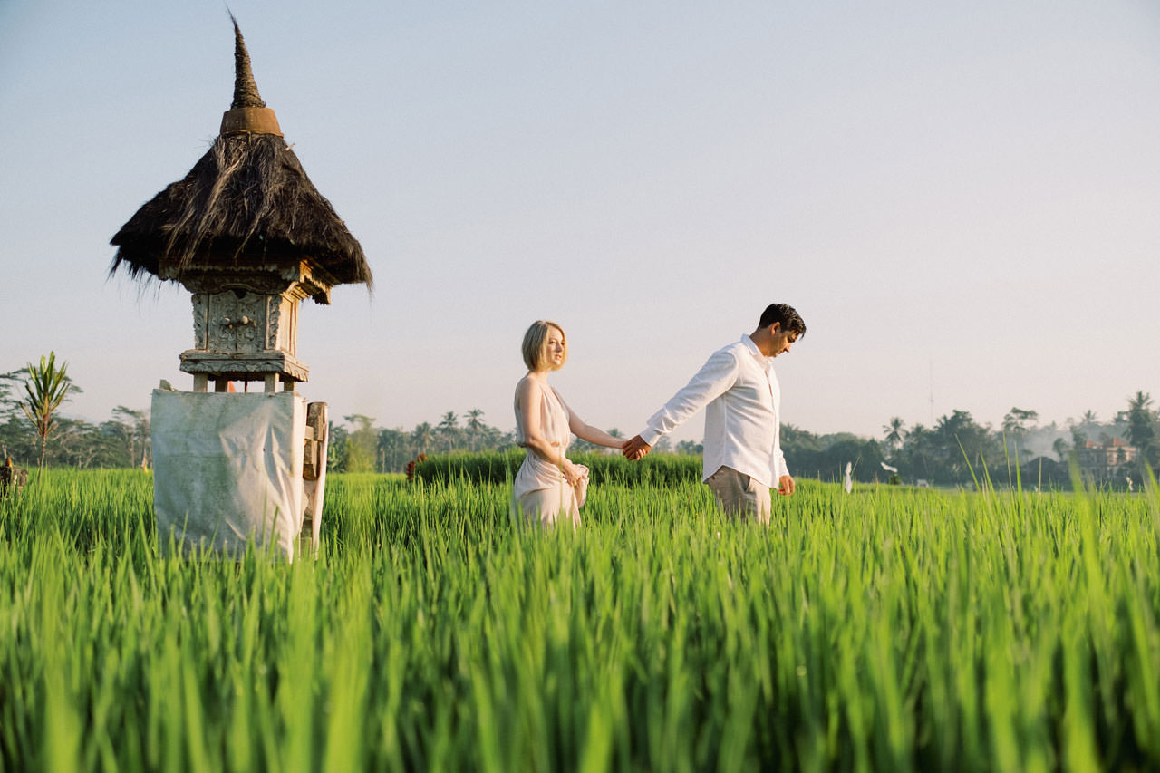 A&R: Dreamy Ubud Resort Honeymoon Photoshoot 7