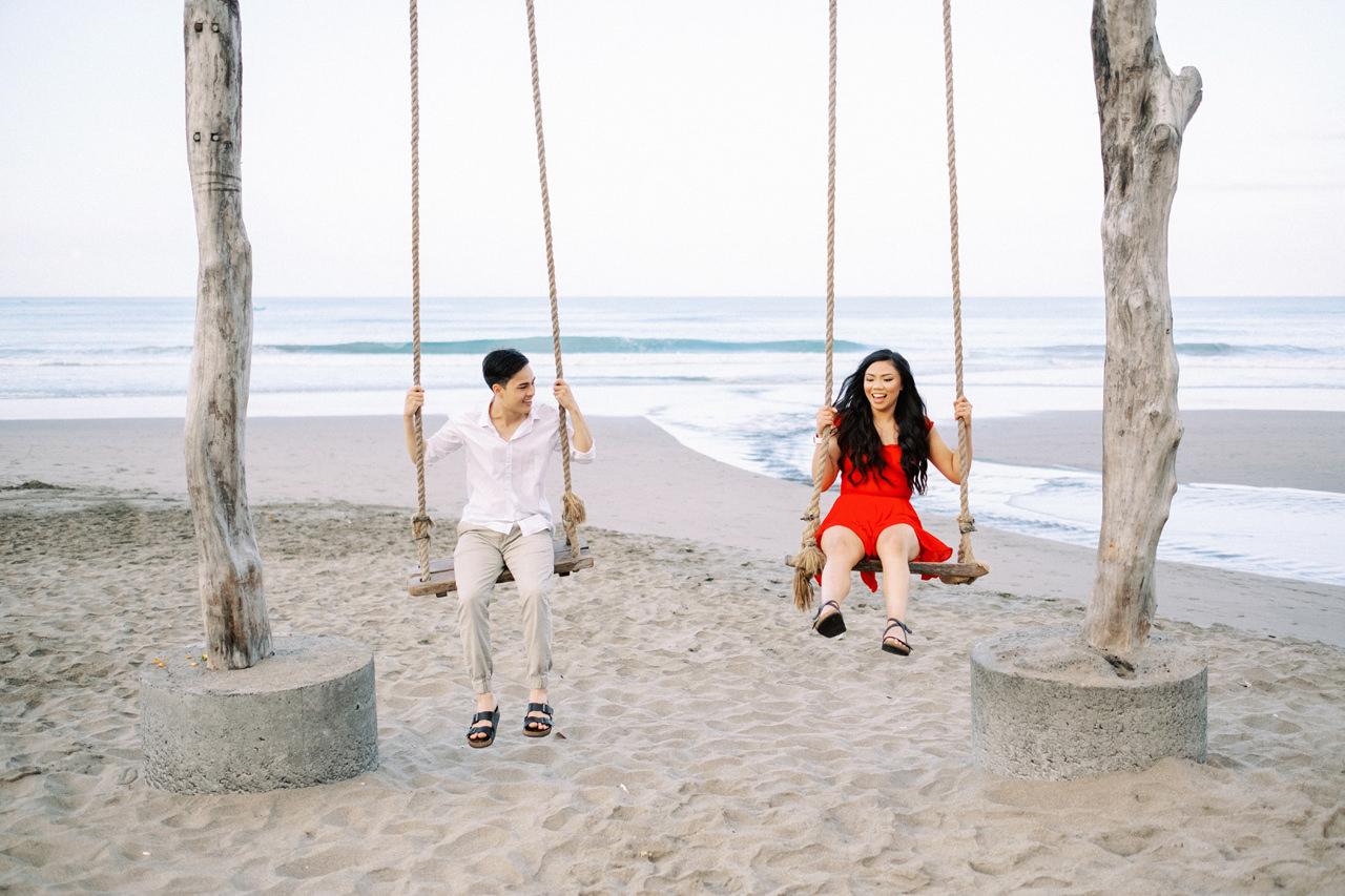 A&R: Fun Bali Swing Engagement in Seminyak 1