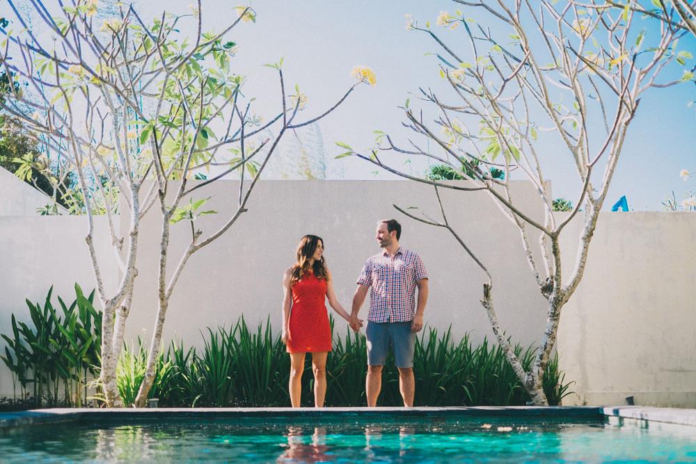 Alain & Sarah: Romantic Honeymoon Photography in Bali 1