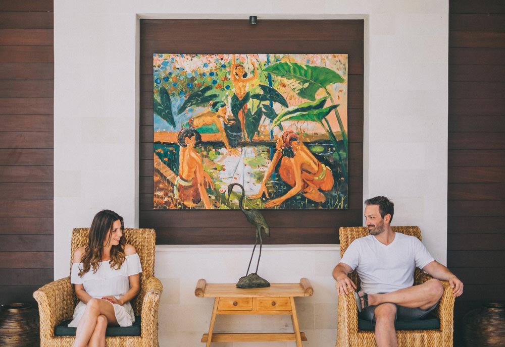 Alain & Sarah Honeymoon in Bali 9