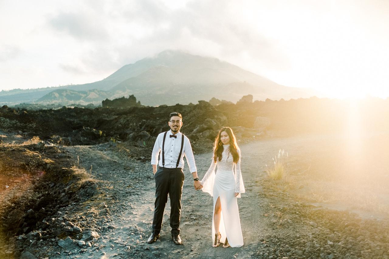 A&S: Timeless Mount Batur Kintamani Prewedding Photography 2