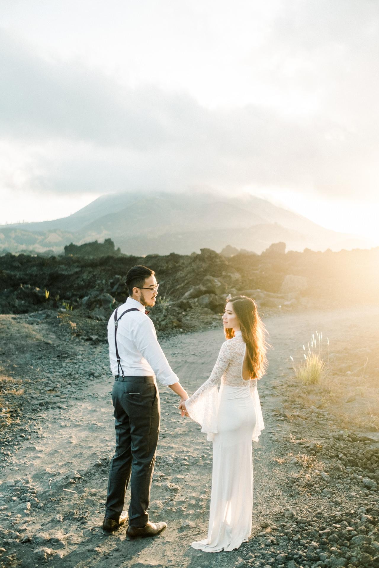A&S: Timeless Mount Batur Kintamani Prewedding Photography 3