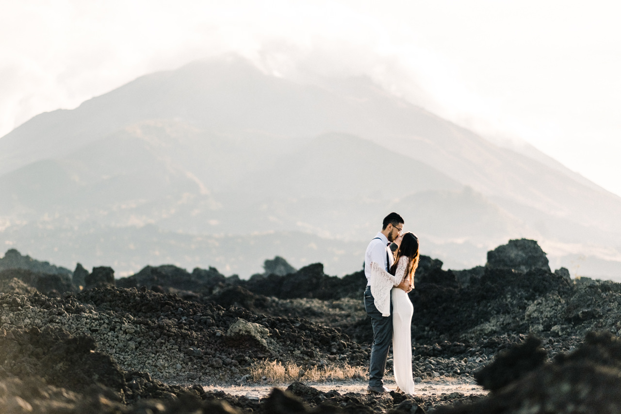 A&S: Timeless Mount Batur Kintamani Prewedding Photography 12