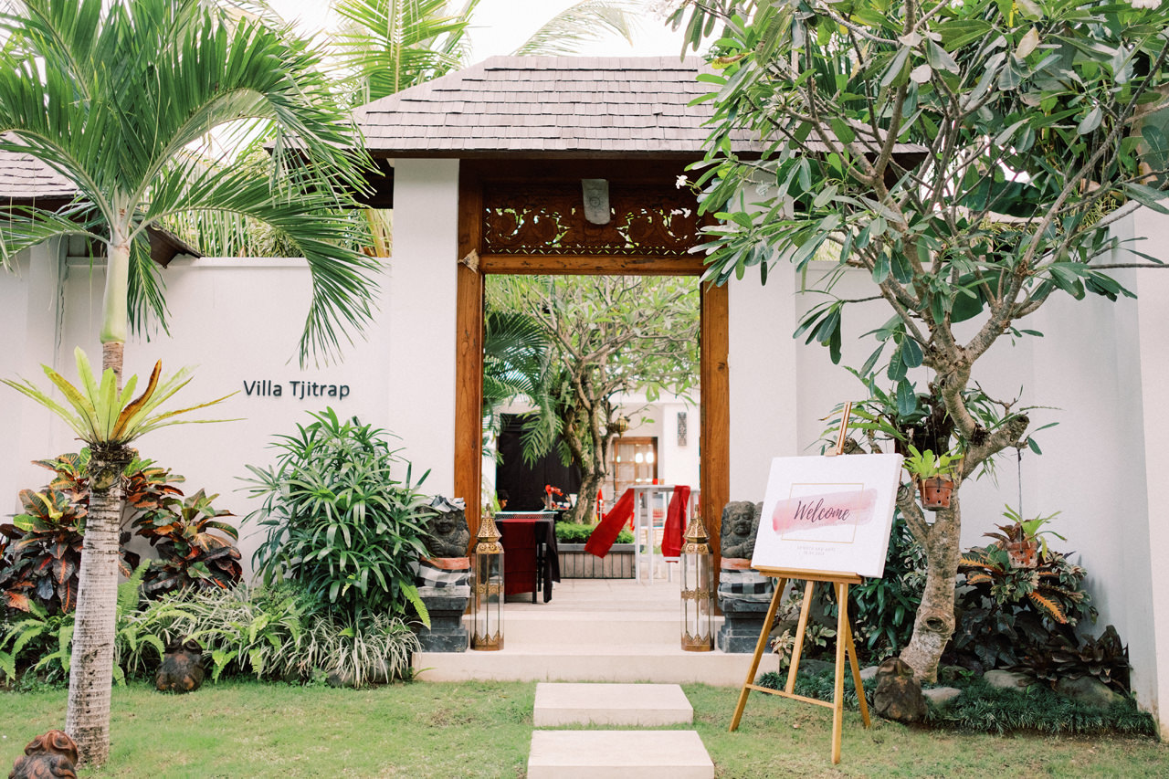 Villa Tjitrap Seminyak Bali Wedding