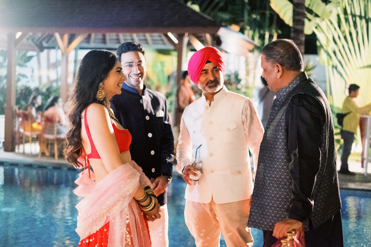 A Modern Indian Wedding in Bali 5