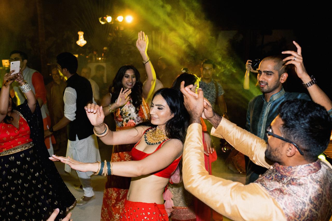 Bali Sangeet Ceremony