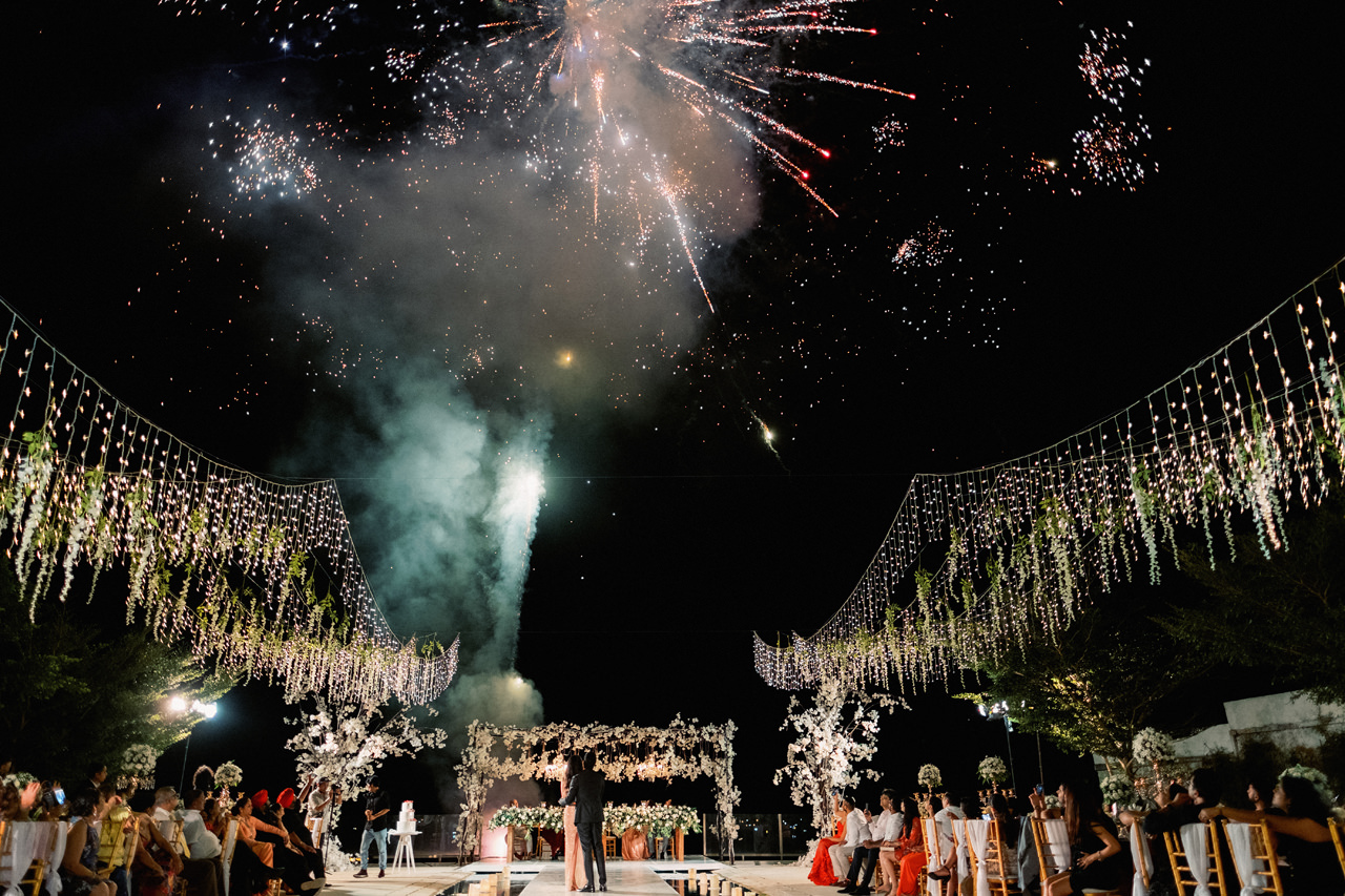 A Modern Indian Wedding in Bali 113