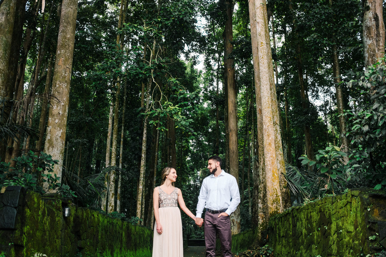 A&S: Engagement Session at Sangeh Monkey Forest 1