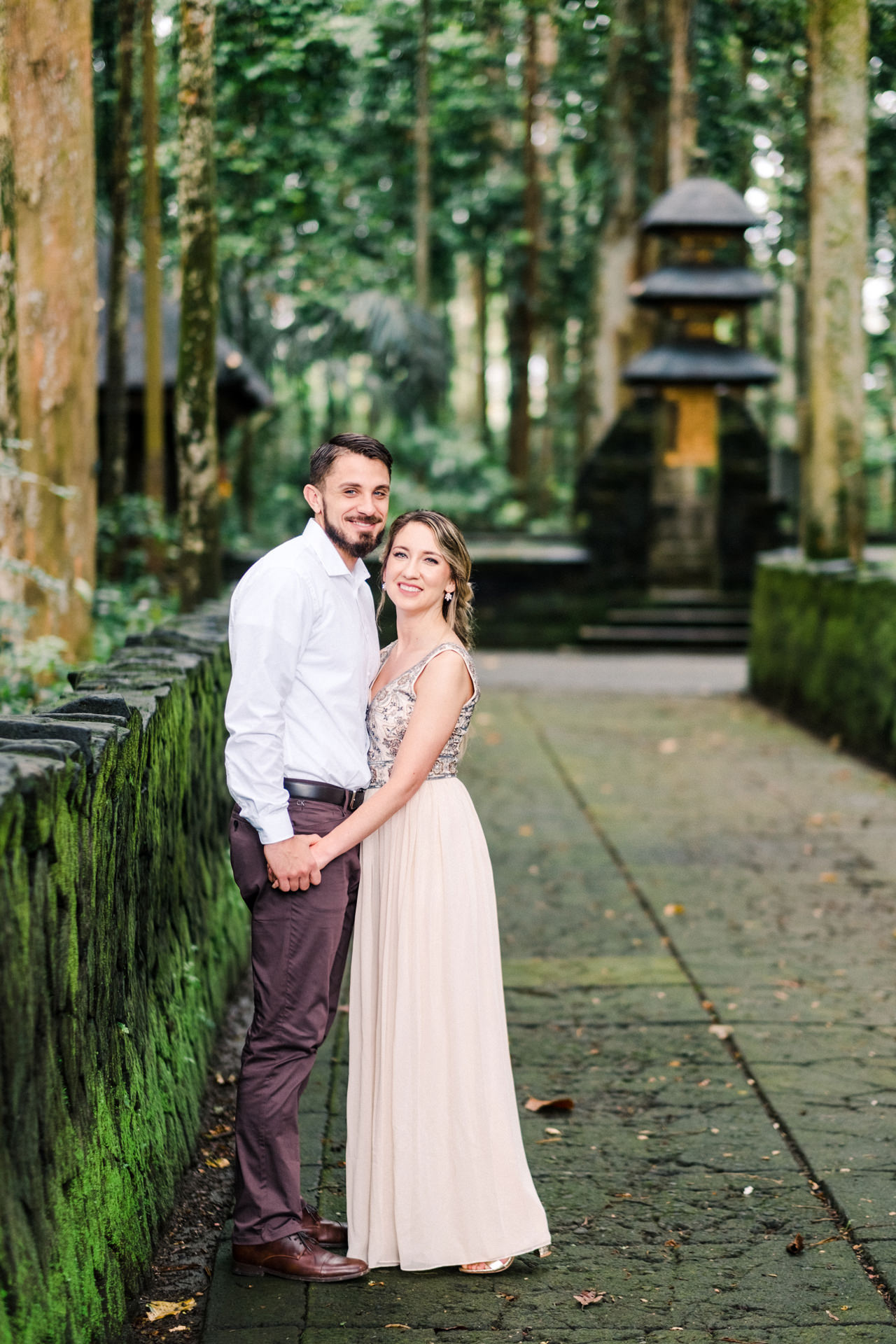 A&S: Engagement Session at Sangeh Monkey Forest 2