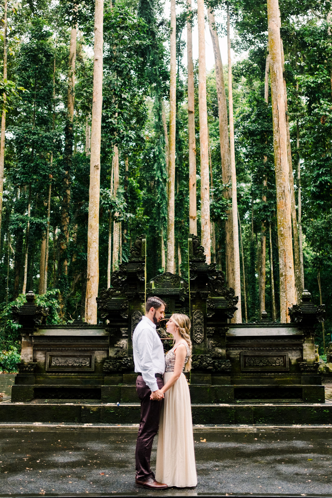 A&S: Engagement Session at Sangeh Monkey Forest 5