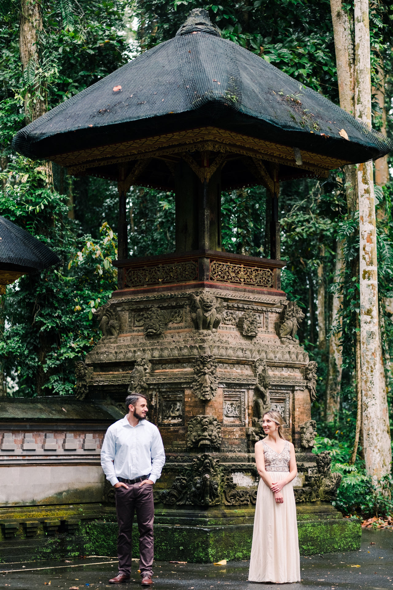 A&S: Engagement Session at Sangeh Monkey Forest 6