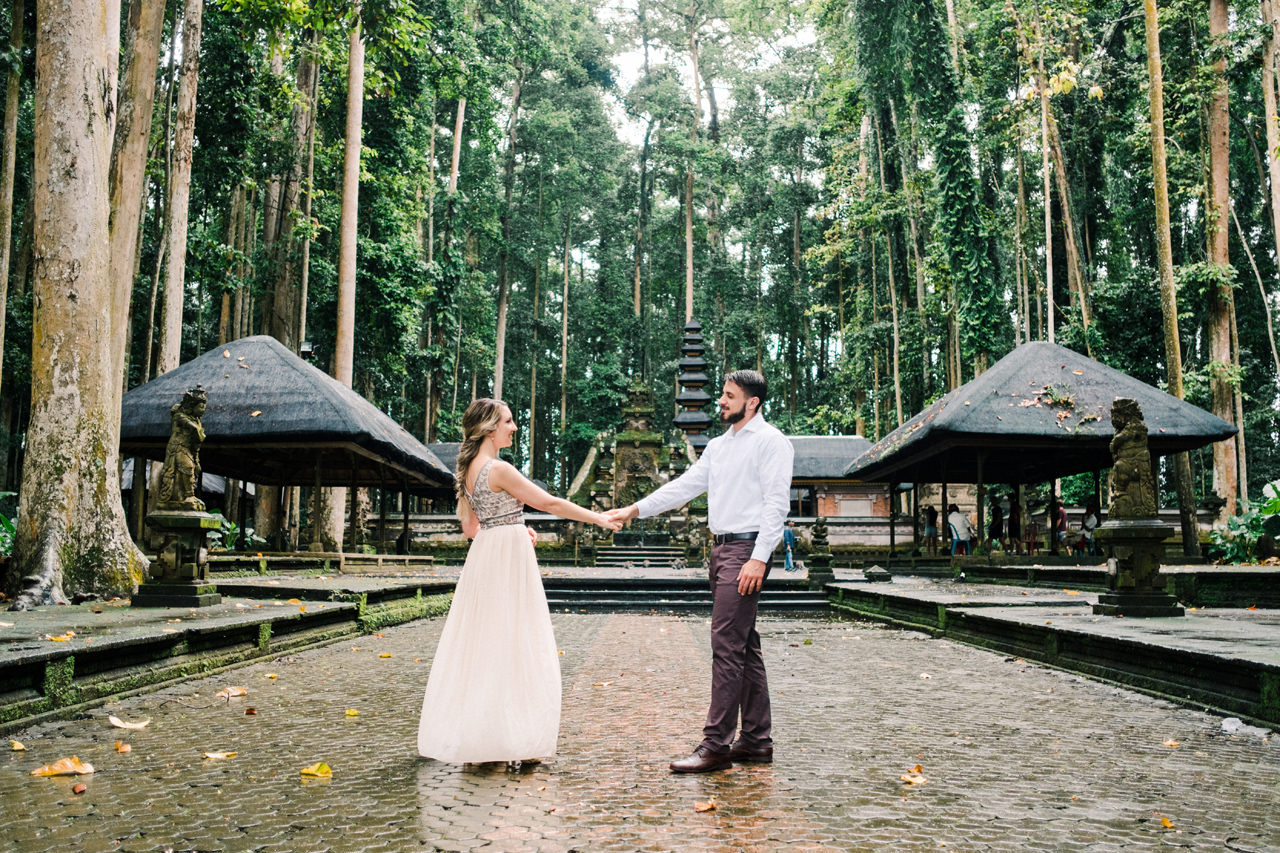 A&S: Engagement Session at Sangeh Monkey Forest 8