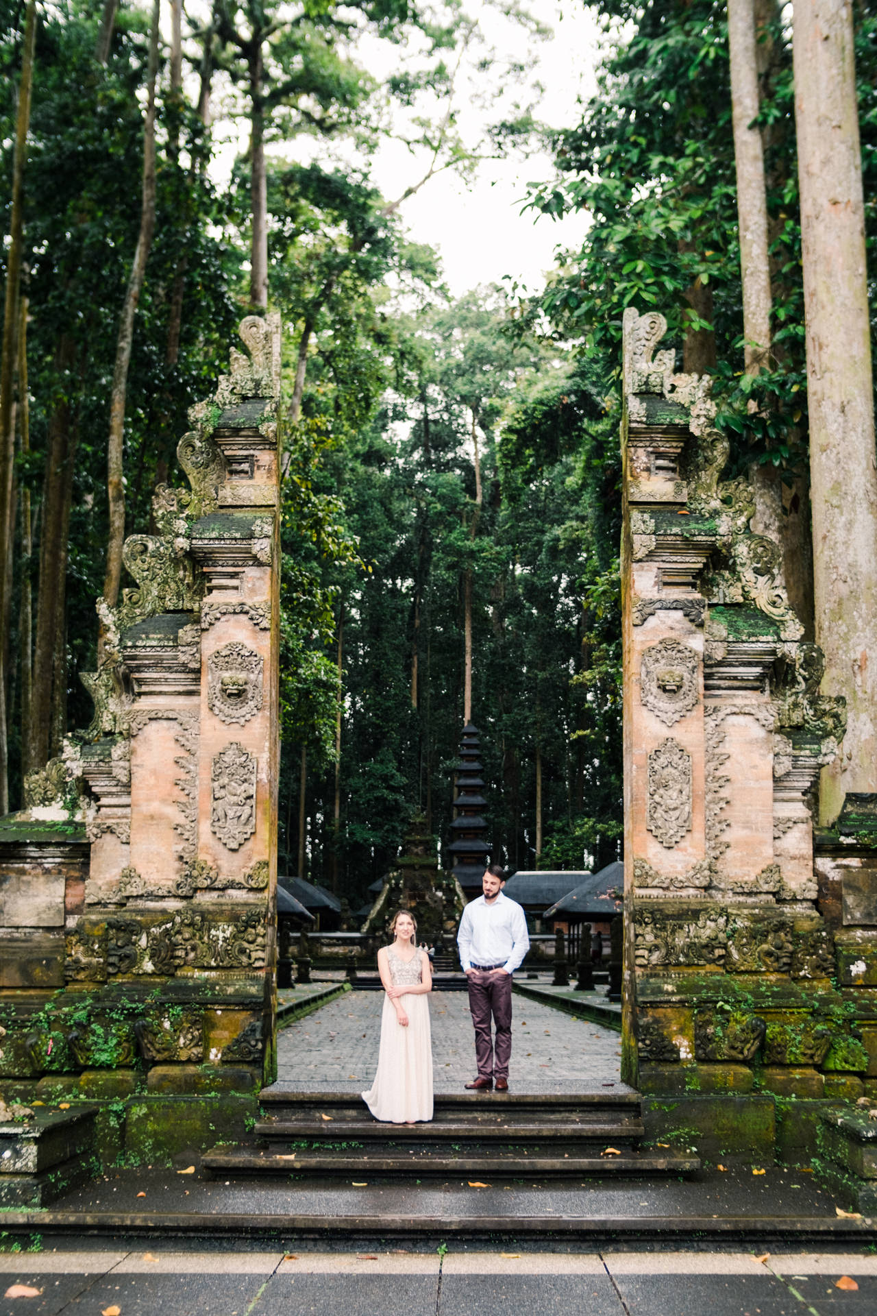 A&S: Engagement Session at Sangeh Monkey Forest 9