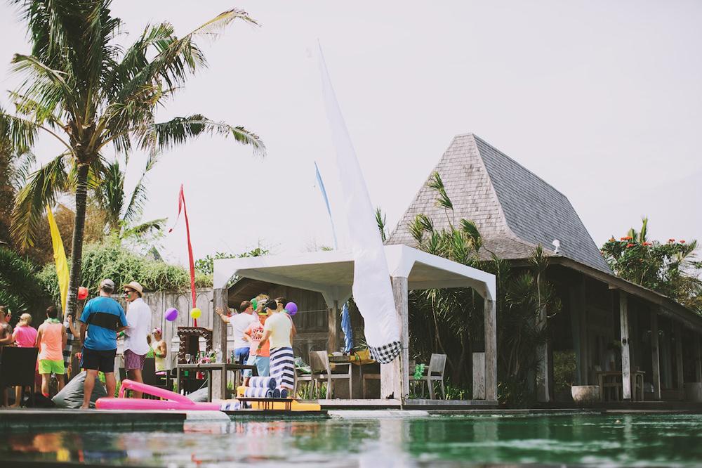 Bali Post Wedding Pool Party 2
