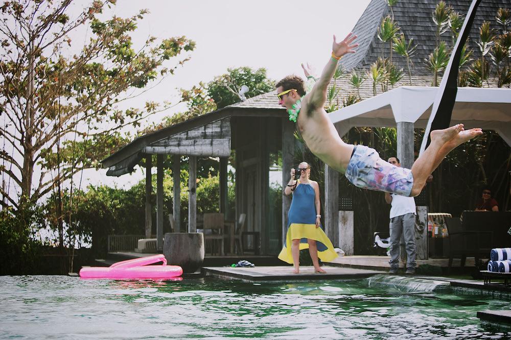 Ben & Angie - Post Wedding Pool Party 17