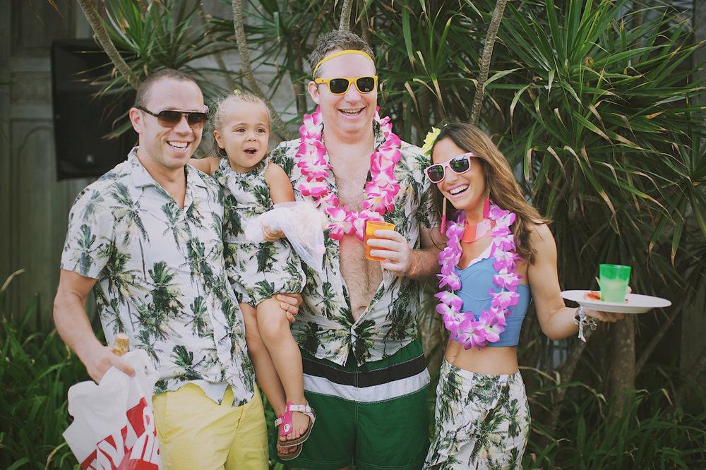 Bali Post Wedding Pool Party 32