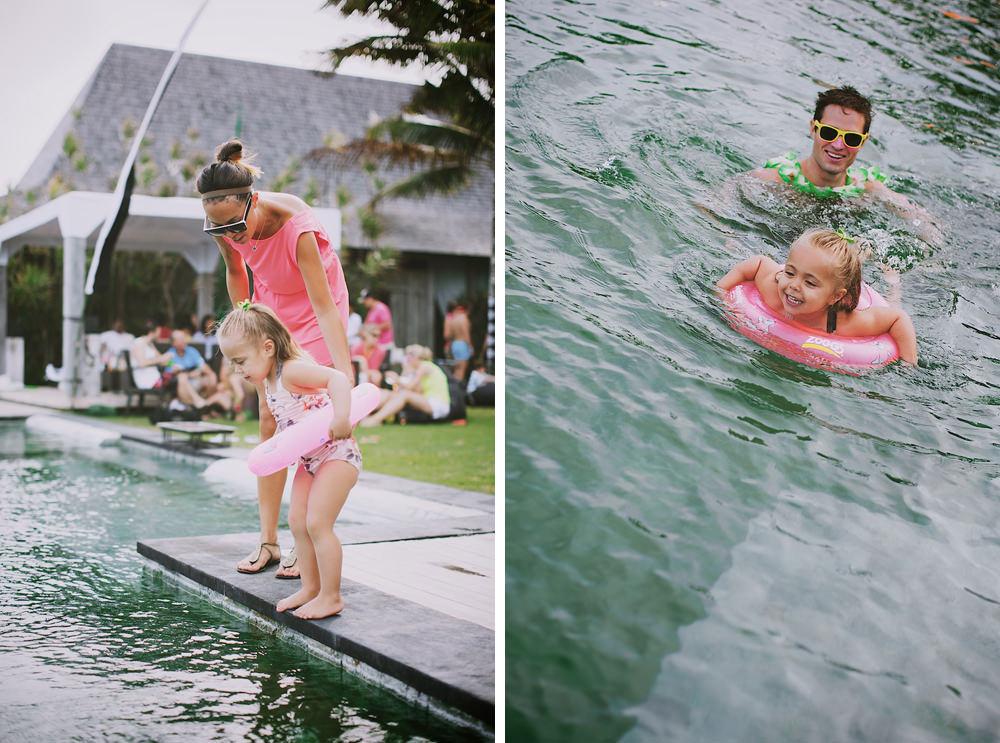 Bali Post Wedding Pool Party 44