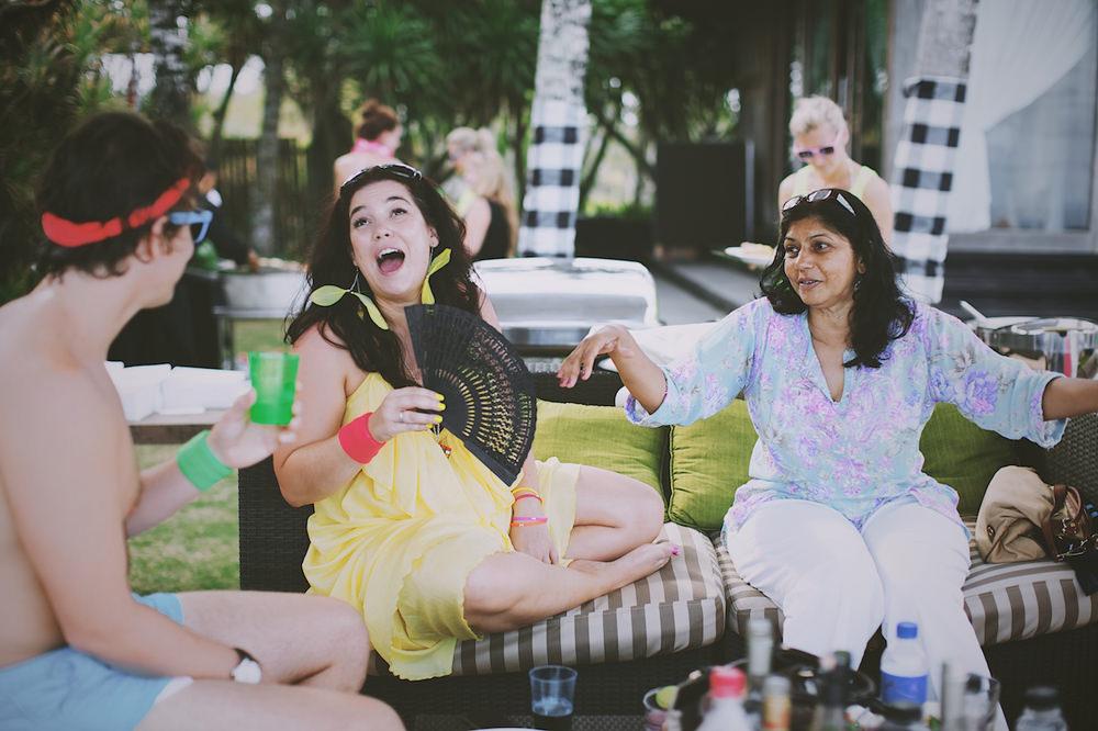Bali Post Wedding Pool Party 45