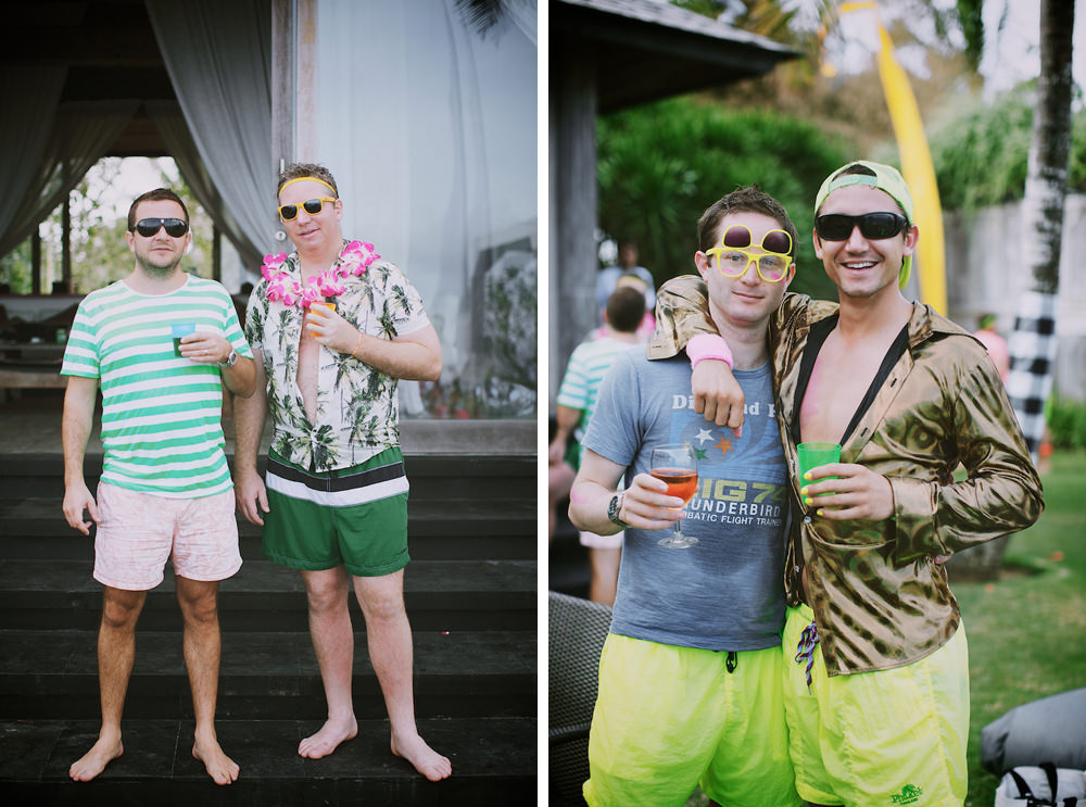 Bali Post Wedding Pool Party 54