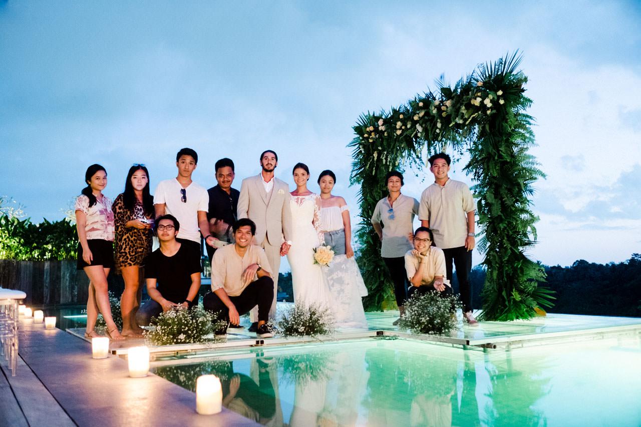 Ubud Wedding at Bisma Eight - Bali Editorial Style Photography 16