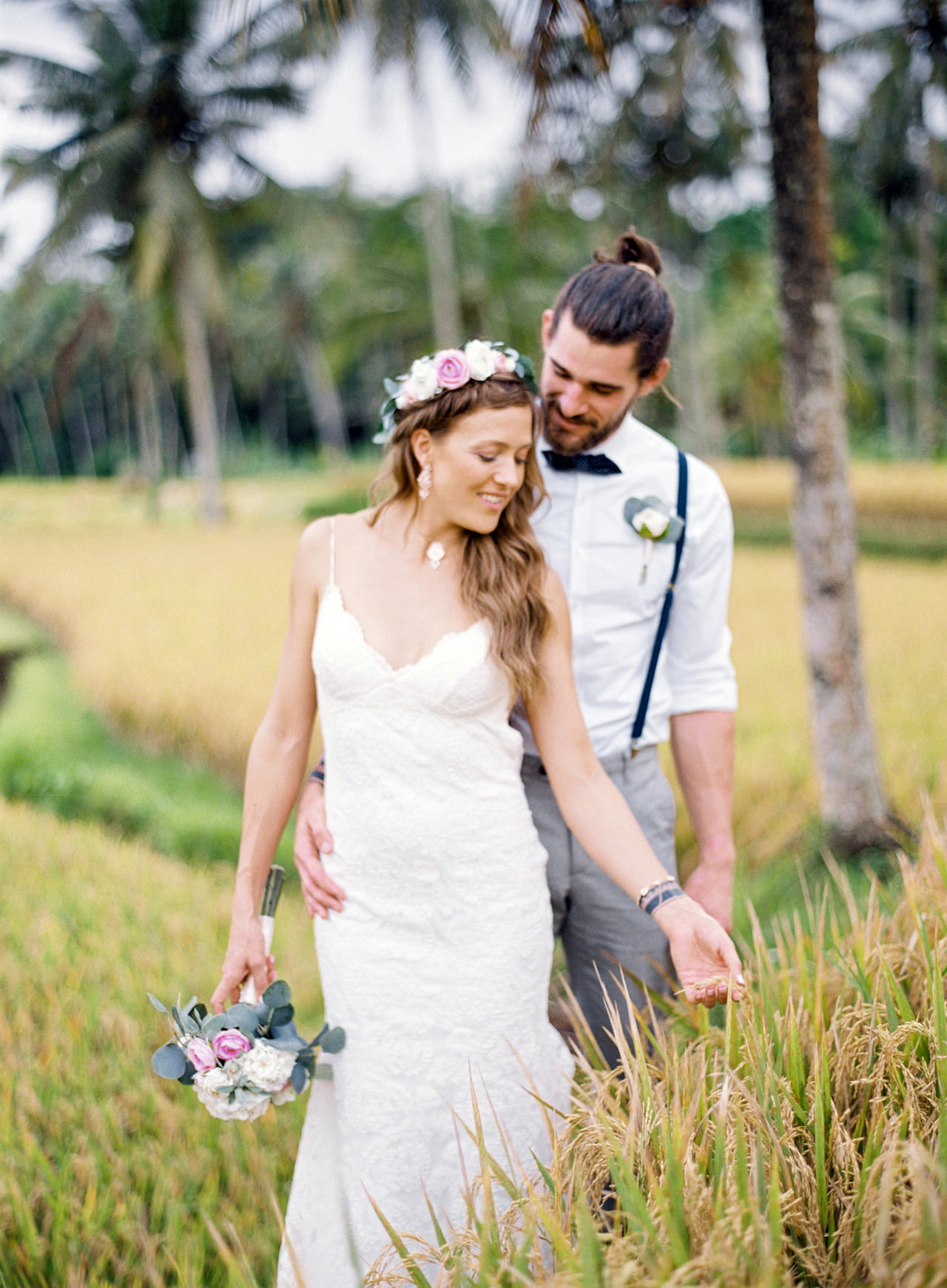 B&F: Fine Art Ubud Elopement Photography 8