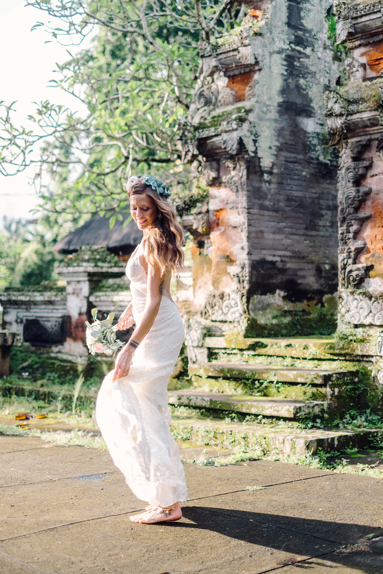 B&F: Fine Art Ubud Elopement Photography 15