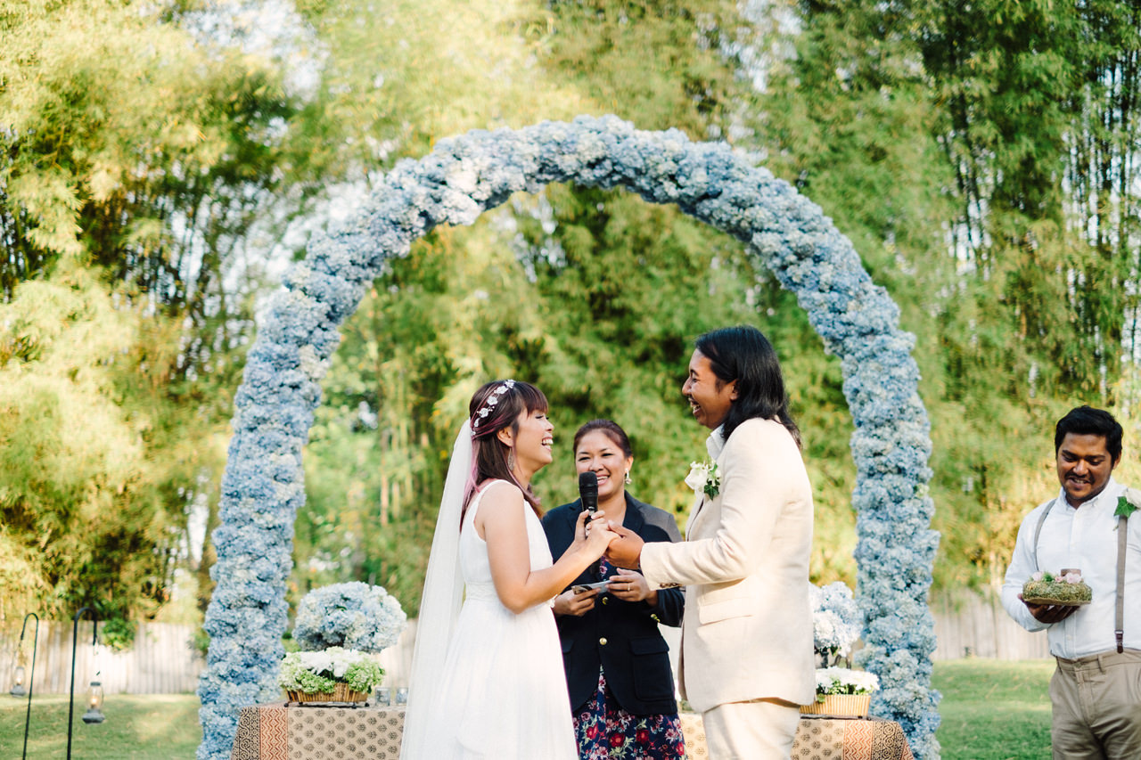 The Wedding of Bayu and Ivony at Gorgeous Bali Wedding Venue 25