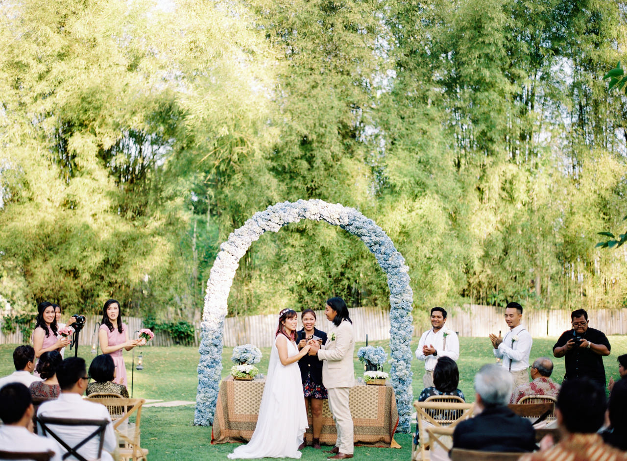 The Wedding of Bayu and Ivony at Gorgeous Bali Wedding Venue 26