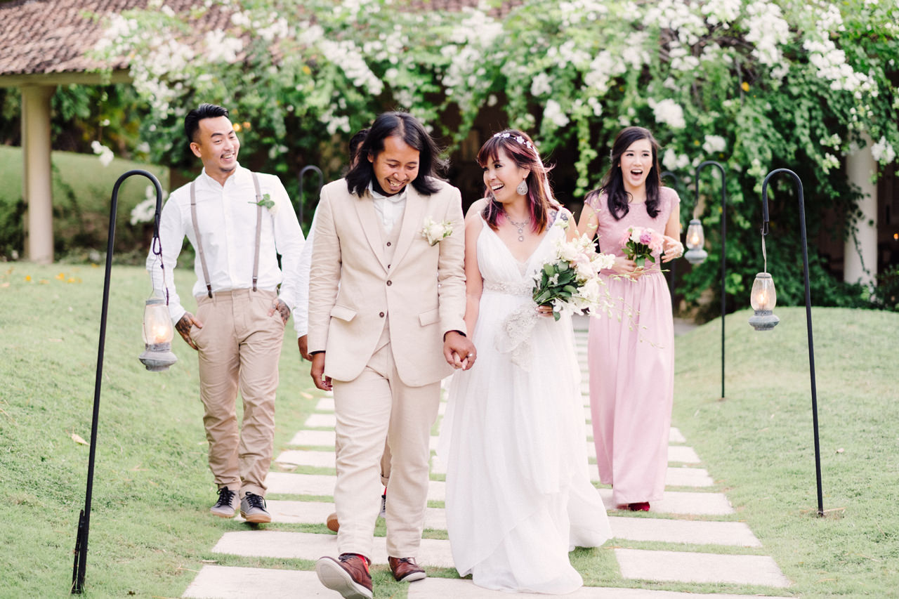The Wedding of Bayu and Ivony at Gorgeous Bali Wedding Venue 31