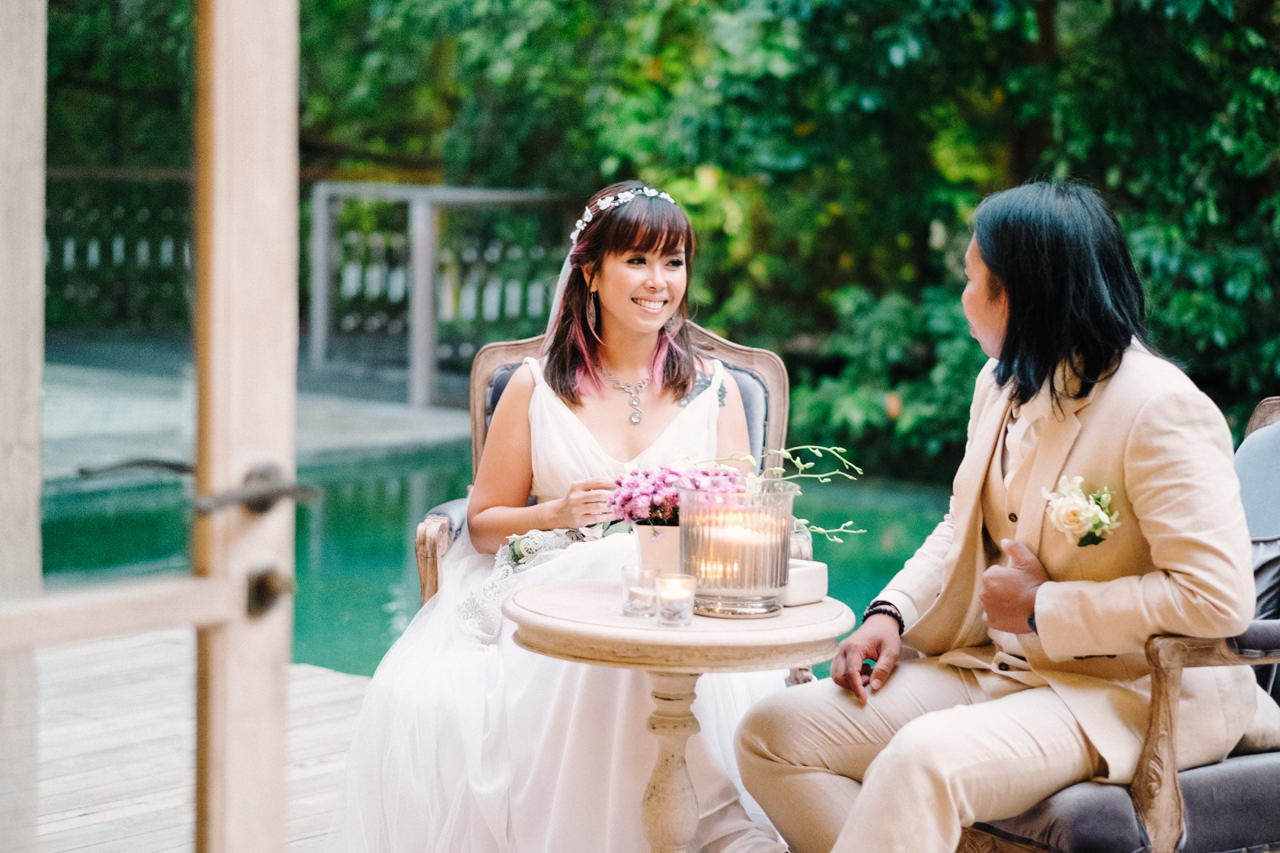 The Wedding of Bayu and Ivony at Gorgeous Bali Wedding Venue 38