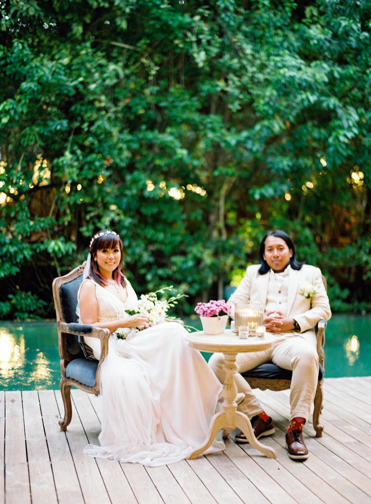 The Wedding of Bayu and Ivony at Gorgeous Bali Wedding Venue 39