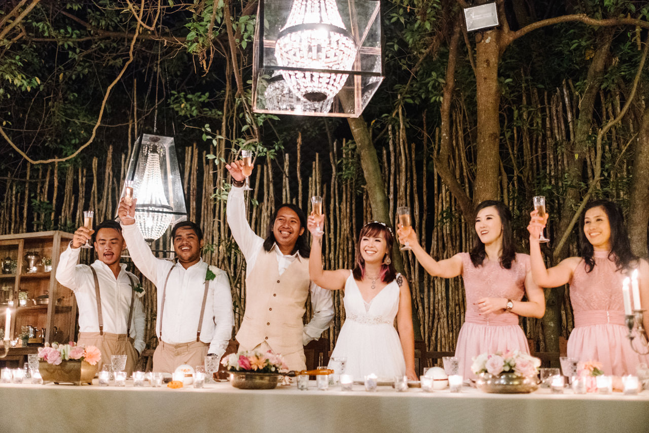 The Wedding of Bayu and Ivony at Gorgeous Bali Wedding Venue 44