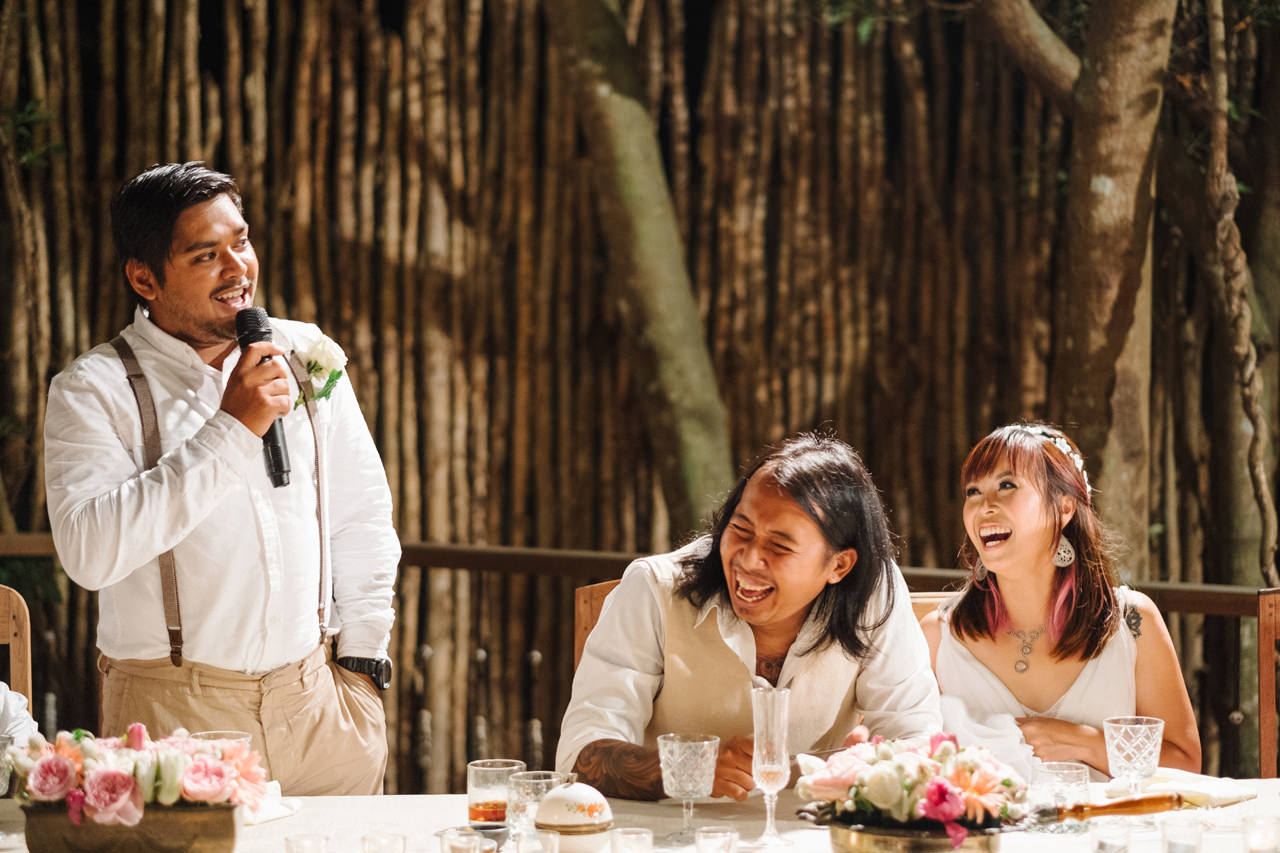 The Wedding of Bayu and Ivony at Gorgeous Bali Wedding Venue 47