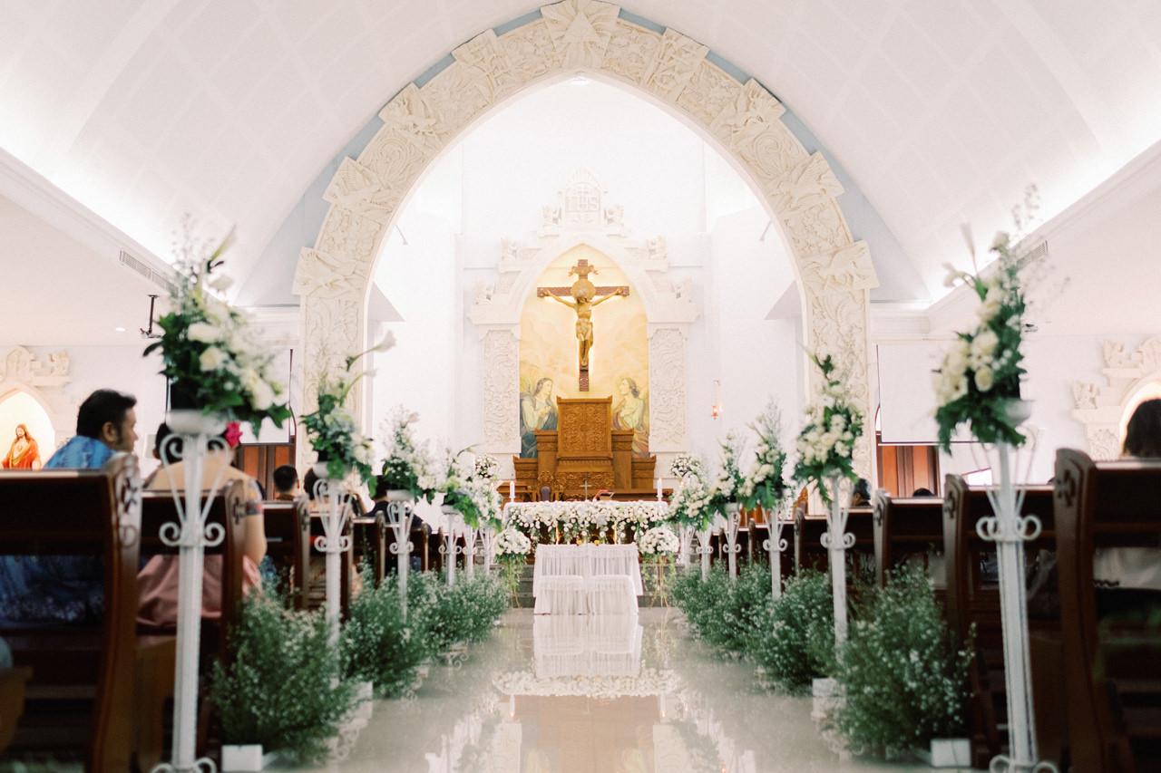 St. Fransiskus Xaverius Church Kuta Bali Wedding