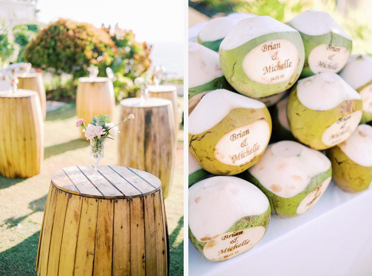 Coconut Cart Bali Wedding